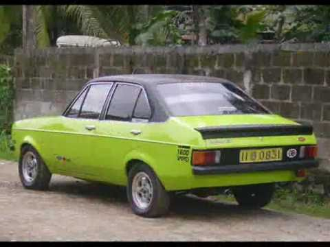 Ford Escort Restoration Done In Sri Lanka Full Video Youtube