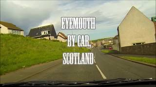 Eyemouth, a small, fishing town in Berickshire, Scottish Borders, Scotland.