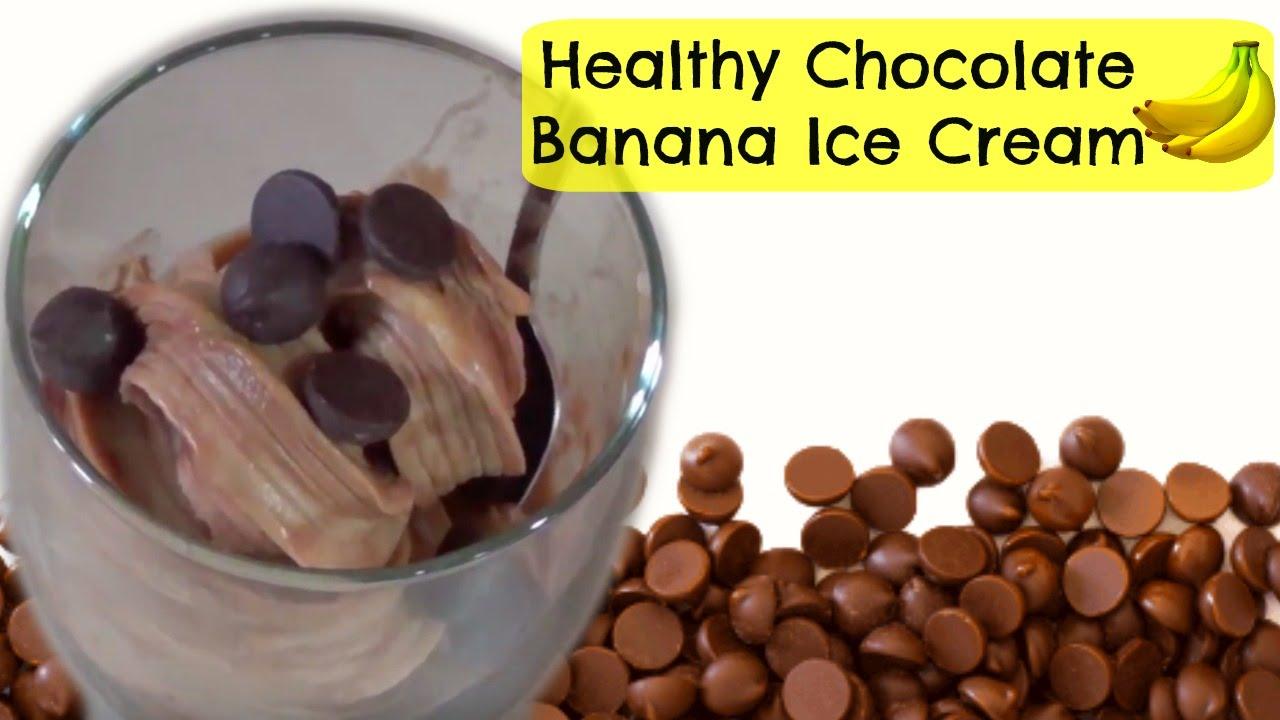 Healthy chocolate banana ice cream ft the dessert bullet youtube ccuart Choice Image
