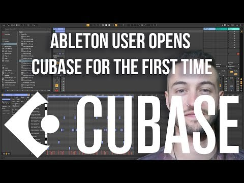 ABLETON USER OPENS CUBASE FOR THE FIRST TIME