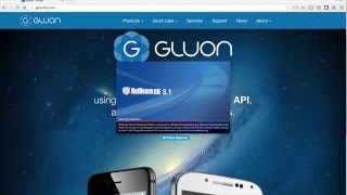 Getting Started with Gluon in NetBeans IDE