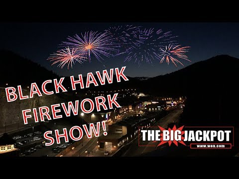 Live Fireworks from Blackhawk Colorado 💥