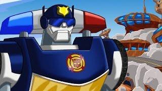 #Мультик Трансформеры #БотыСпасатели. #TransformersRescueBots. Серия 4. Летающие лобстеры