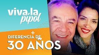 ¡Tienen 30 años de diferencia! Eliseo Salazar habló de su romántica historia de amor - Viva La Pipol