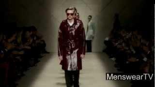 Burberry Menswear AW13 Autumn Winter 2014 Runway Show Milan Thumbnail