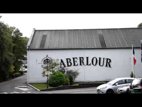 Aberlour Distillery In Speyside, Scotland