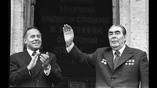 Визит Брежнева Л.И. и Черненко К.У. в Баку.