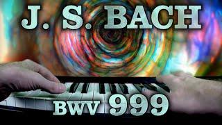 Johann Sebastian BACH: Prelude in C minor, BWV 999 [v02]