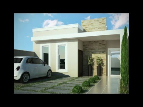 Fachadas de casas peque as small houses facades youtube for Fachadas modernas de casas chicas
