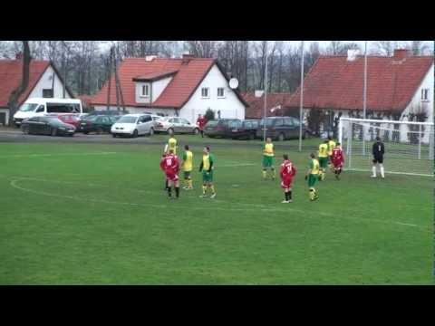 Fragmenty meczu Orlęta Reszel-MKS Jeziorany 11.11.2012r.