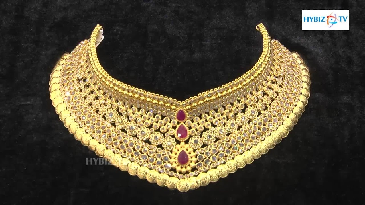 Latest Gold Choker Necklace - Malabar Gold and Diamonds | hybiz ...