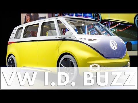 NAIAS 2017 Detroit Volkswagen VW ID BUZZ VW Atlas und VW Tiguan LWB Debüt