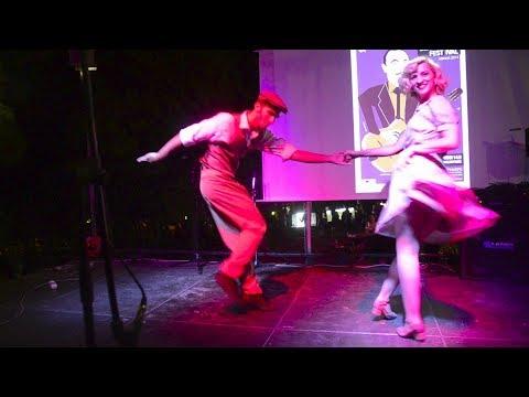 Djangofest 2014 | Athens Lindy Hop fashion show performance