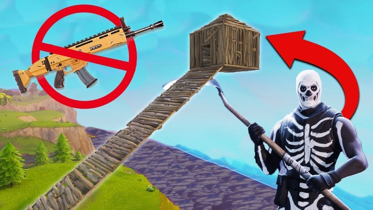 Winning Fortnite With NO WEAPONS!!!