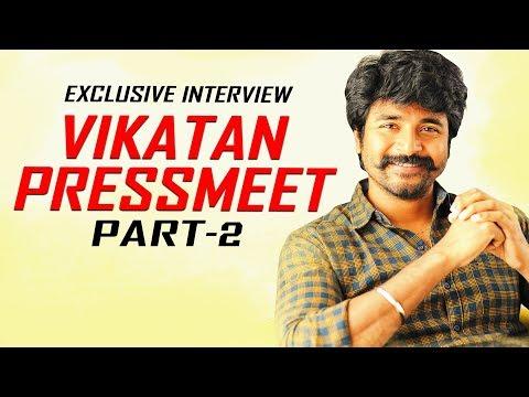 Vijay Sethupathi-ஐ ஜெயிக்கிறதுக்கு நான் சினிமாவுக்கு வரல! | Vikatan Press Meet-இல் Sivakarthikeyan