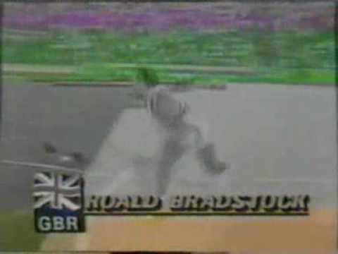Roald Bradstock in the 1984 Olympics - Final Round