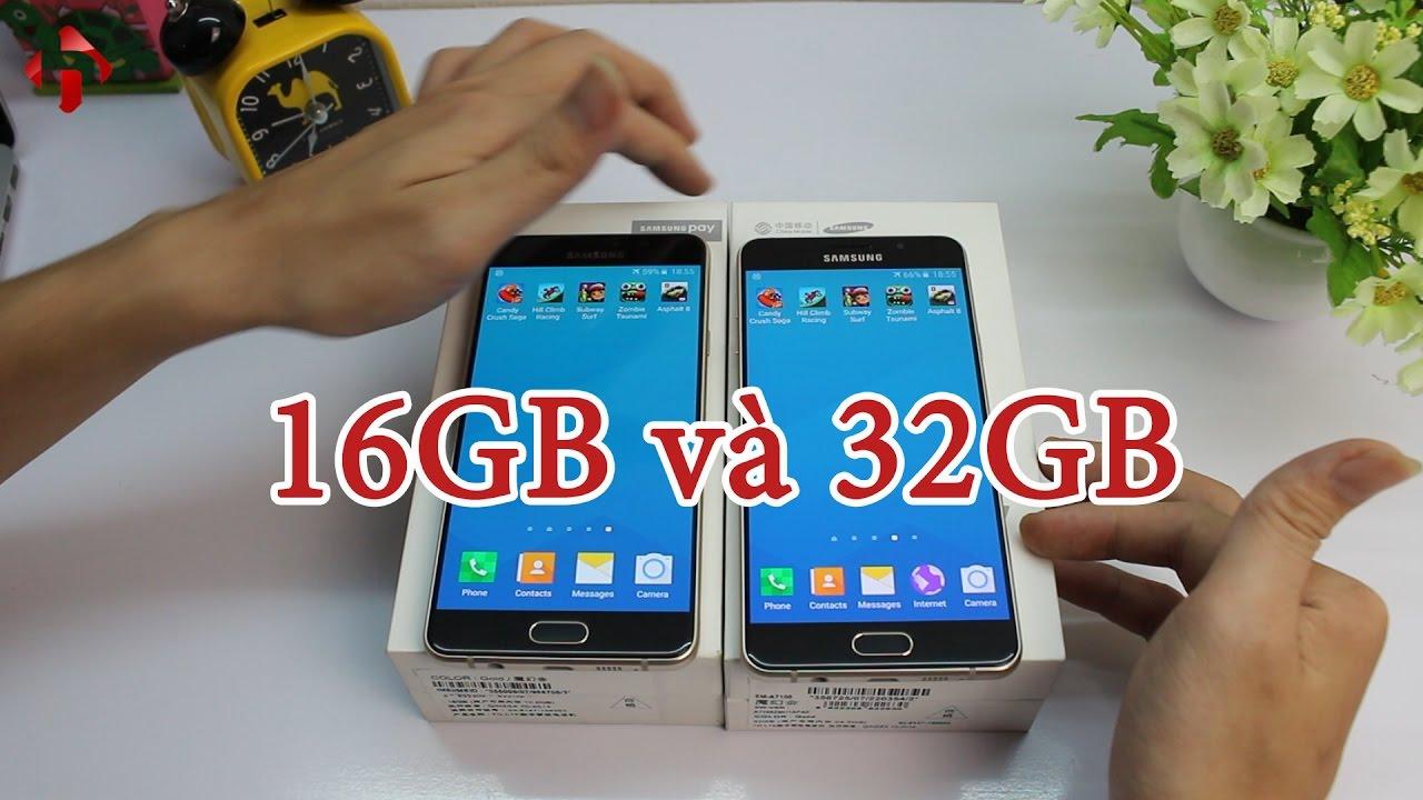 Hungmobile Speed Test Samsung Galaxy A7 2016 16gb V 32gb Th Trng Hongkong Trung Quc Youtube