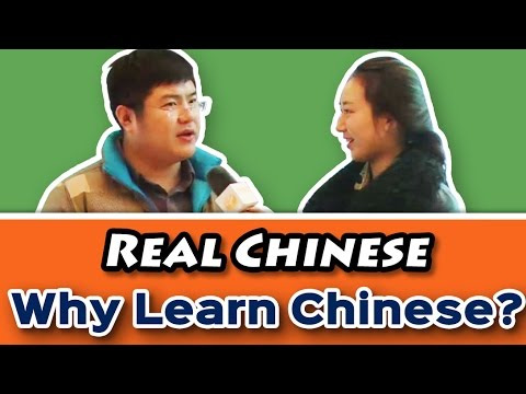 Chinese on the Street - Why do foreigners learn Chinese? | Learn Chinese with Yoyo Chinese