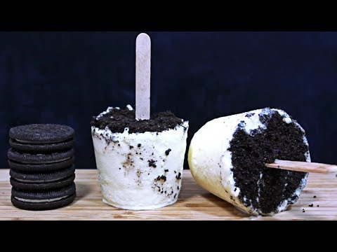 How to make Oreo Popsicles | Cooking for Kids | Easy Dessert Recipes by HooplaKidz Recipes