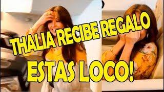 Thalia Es Sorprendida Con Lujoso Regalo
