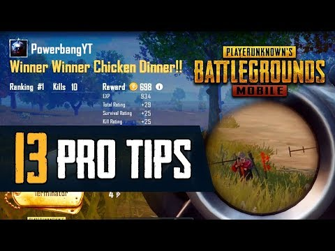 13 Pro Tips to Improve Your PUBG MOBILE Game