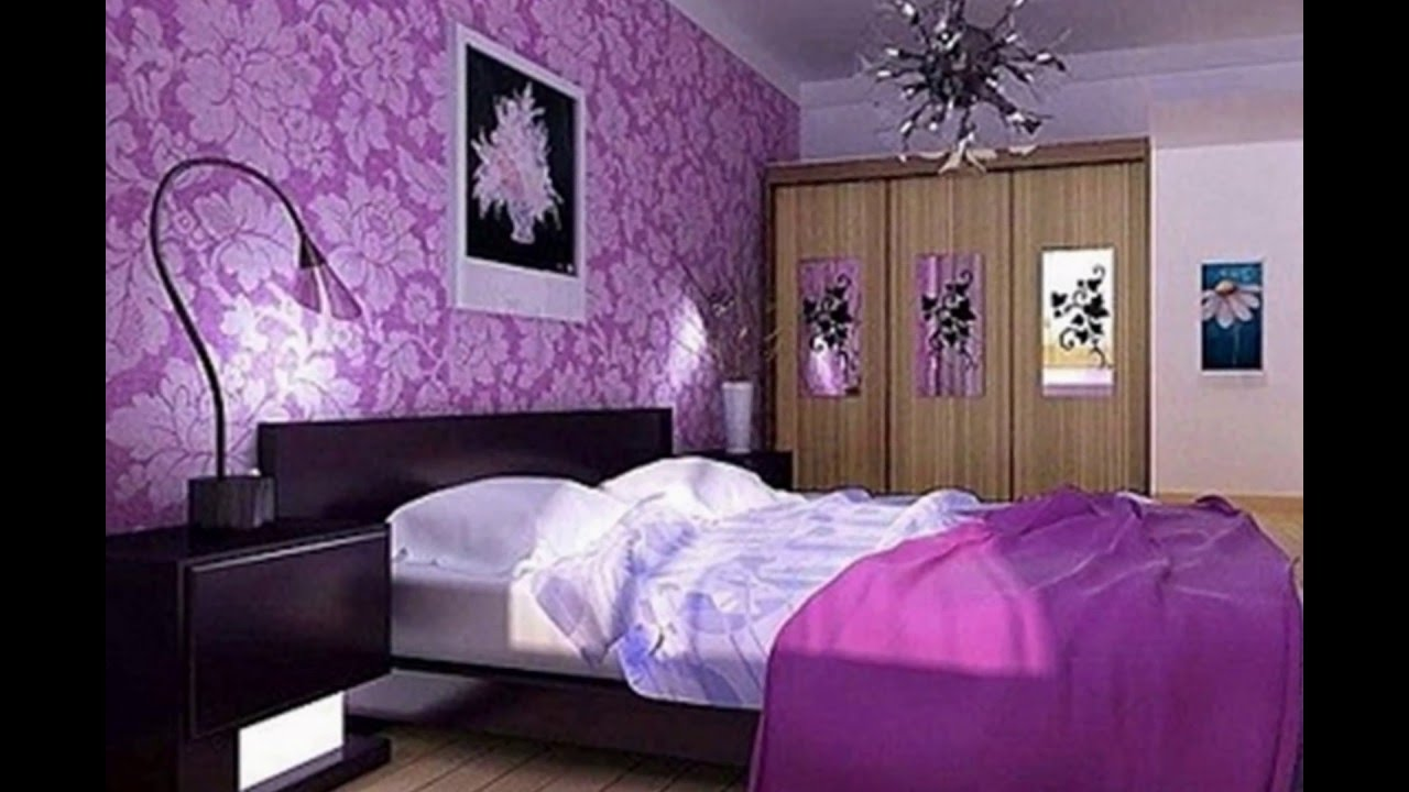 Interior Purple Bedroom Decorating Ideas purple room ideas living grey and youtube