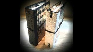 Tutorial *1 Homemade Travelers Notebooks ( Tsunami Rose printables )