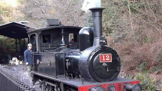 明治村・蒸気機関車(1874年・明治7年製)12号