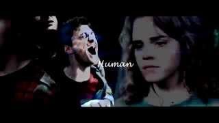 Harry & Hermione~Human
