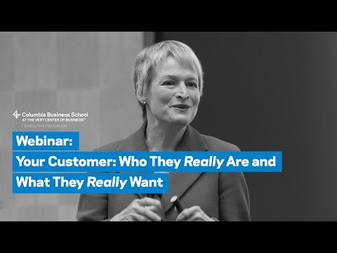 Your Customer: Who They Really Are and What They Really Want