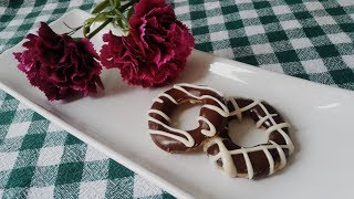 ÇİKOLATALI KURABİYE / Donut / Making the Most Different Cookies / Beautiful Donut Cookies
