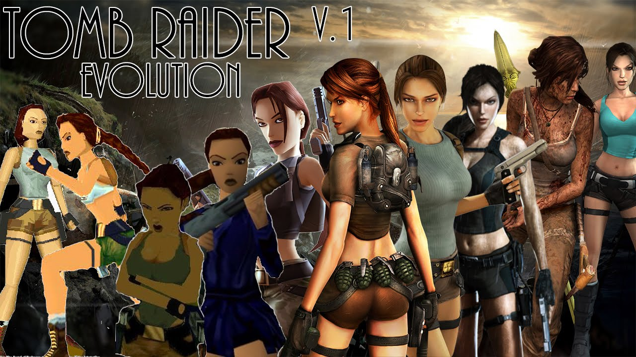 Tomb Raider Evolution 1996 2013 Youtube