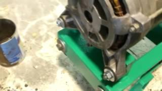 видео самодельный деревообрабатывающий станок
