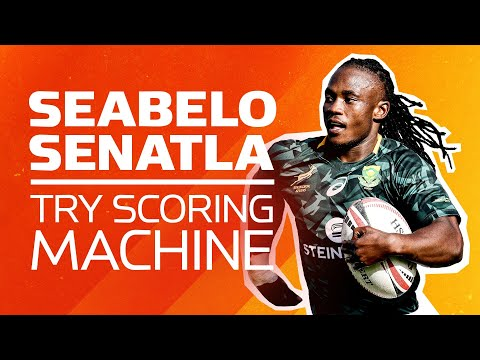 TRY-SCORING MACHINE 🤖 Seabelo Senatla's Best Tries for South Africa Sevens