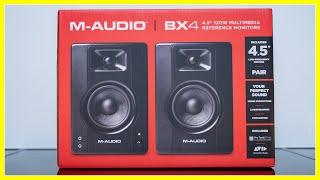 M-Audio BX4: Unboxing & Erster Eindruck in 4K | TechnikLoft