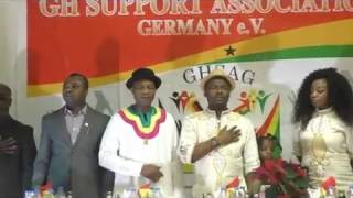 GQMOVIES -  GHSAG addressing the Problems with the Ghana Embassy Berlin