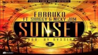 Sunset - Farruko Ft Nicky Jam & Shaggy. [Yo Quiero Hacerte El Amor]