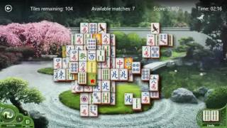 Windows Mahjong video