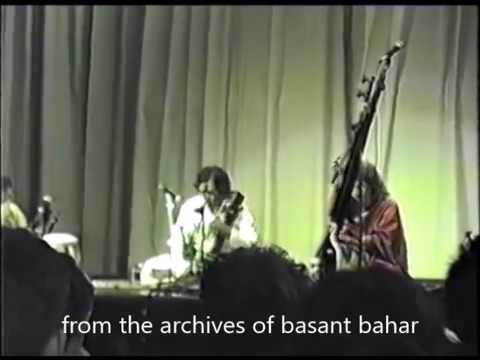 Ustad Sultan Khan And Ustad Zakir Hussain   Raga:  Madhuvanti