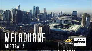 [4K] Melbourne, Victoria - Australia Drone View