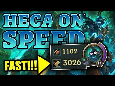 Hecarim on SPEED!!! FASTEST Horse on the Rift | League of Legends
