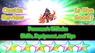 Final Fantasy Brave Exvius 6 stars Ozetta Review: Poorman