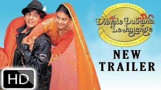 Dilwale Dulhania Le Jayenge - New Trailer | Shah Rukh Khan, Kajol