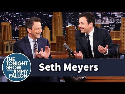 Seth Meyers on Baby Teeth, Late Night Fails and Credit for President Trump