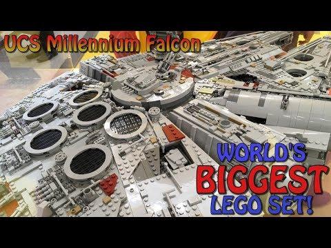 WORLD'S BIGGEST LEGO SET AT WORLD'S BIGGEST LEGO STORE (UCS ...