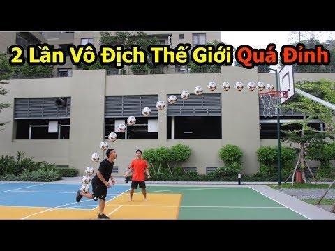 Thử Thách Bóng Đá Với Siêu Sao Gốc Việt Nam 2 Lần Hạ đo Ván Vua Bóng đá đường Phố Sean Gariner