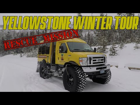 Yellowstone Winter Tour Rescue Mission