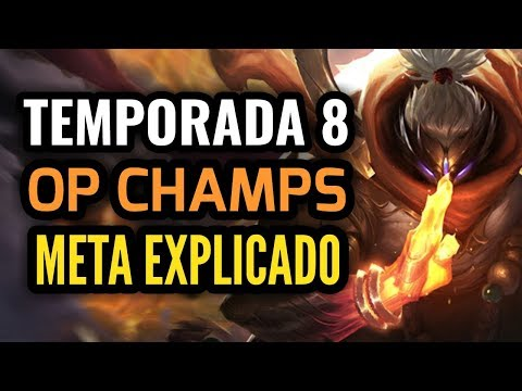 MEJORES PICKS Y CAMPEONES OP Temporada 8! META EXPLICADO Parche 8.1! League of Legends Season 8!