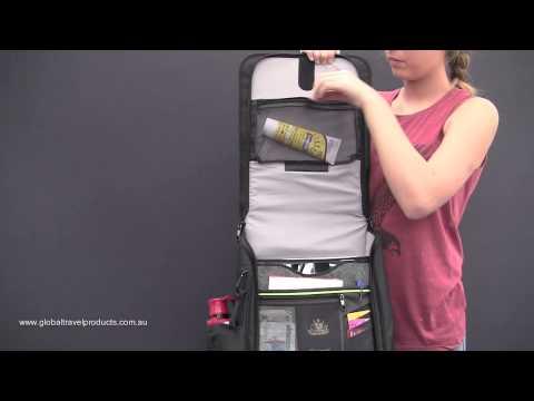 4069f039729 Anti-Theft Urban Laptop Backpack - YouTube