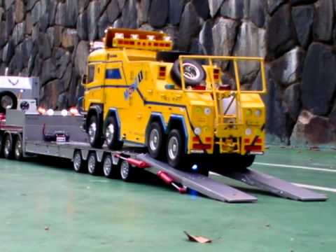 RC// lowbed load Recker 1